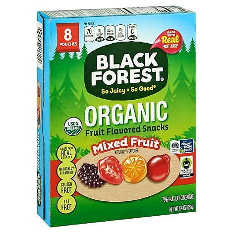 Black Forest Organic Fruit Snacks 8 Ct - .8 Oz