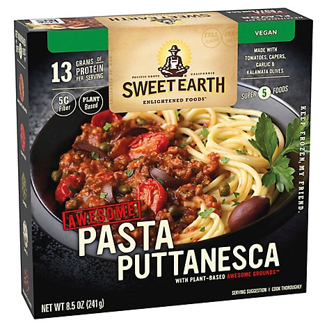 Sweet Earth Entree Pasta Puttanesca - 8.5 Oz