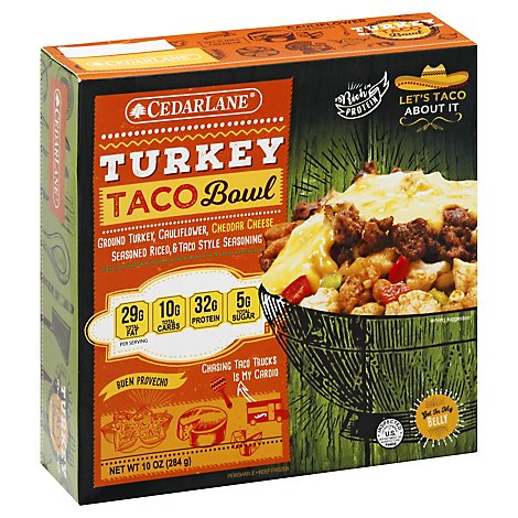 Cedarlane Bowl Turkey Nacho - 10 Oz