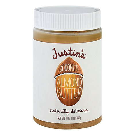 Justins Almond Butter Coconut - 16 Oz