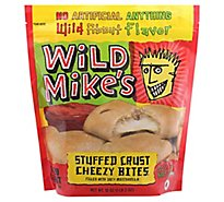 Wild Mikes Cheese Stuffed Crust Cheesy Bites - 18 Oz