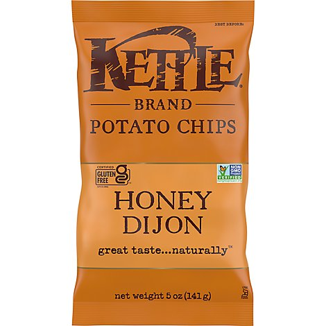 Kettle Potato Chips Honey Dijon - 5 Oz