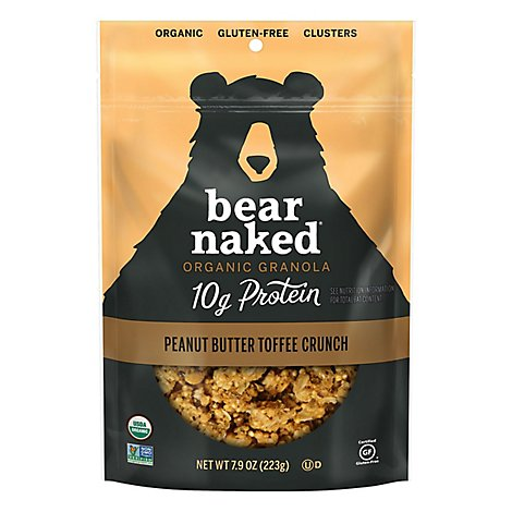 Bear Naked Granola Peanut Butter Toffee Crunch - 7.9 Oz