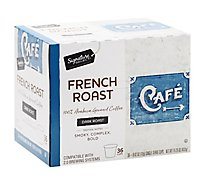 Signature Select Coffee Pod French Roast - 36 Count