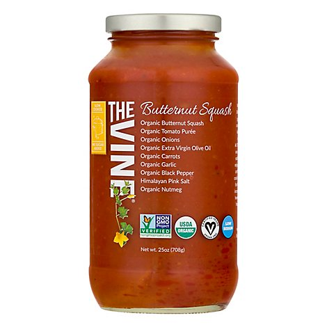 The Vine Pasta Sauce Butternut Squash - 25 Oz