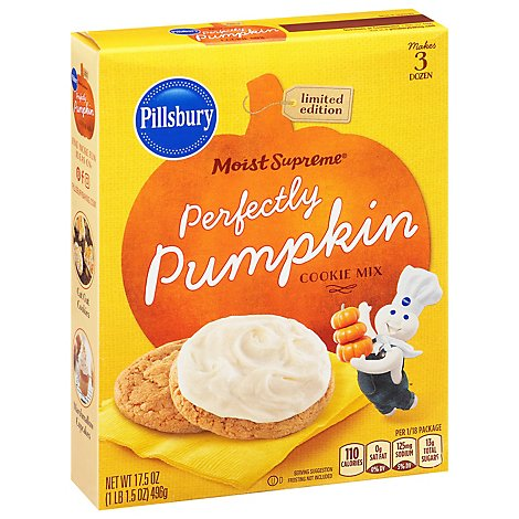 Pillsbury Perfectly Pumpkin Cookie Mix - 17.5 Oz