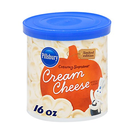 Pillsbury Cream Cheese Frosting Creamy Supreme - 16 Oz