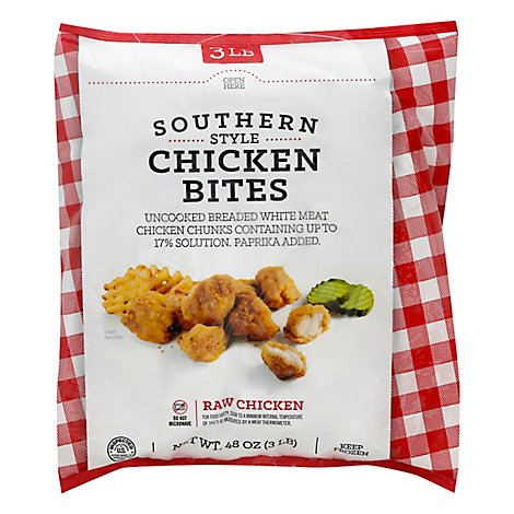 Chicken Bites Southern Style Frozen - 3 Lb