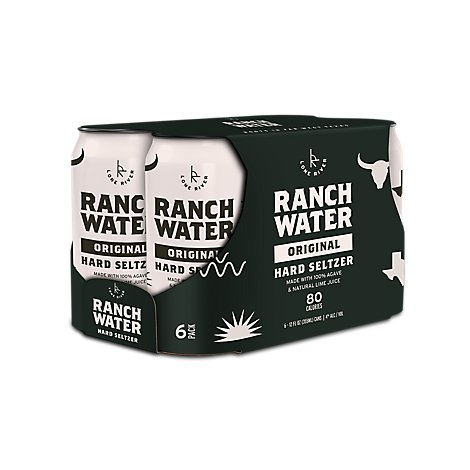 Lone River Ranch Water 6pk In Cans - 6-12 Fl. Oz.
