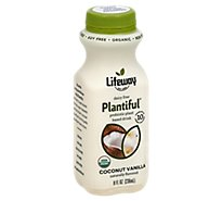 Lifeway Plantiful Probiotic Drink Dairy Free Coconut Vanilla - 8 Fl. Oz.