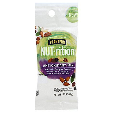 Planters Nut Rition Antioxidant Mix - 1.75 Oz