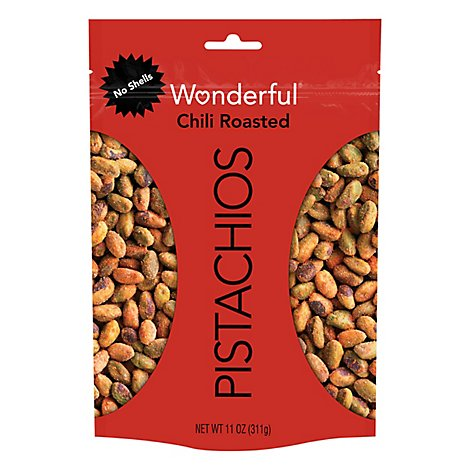 Wonderful Pistachios Chili Roasted 11oz - 11 Oz