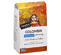 Signature Select Coffee Colombia Ground - 32 Oz