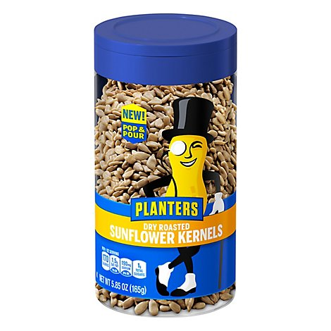 Planters Sunflower Kernels Dry Roasted - 5.85 Oz