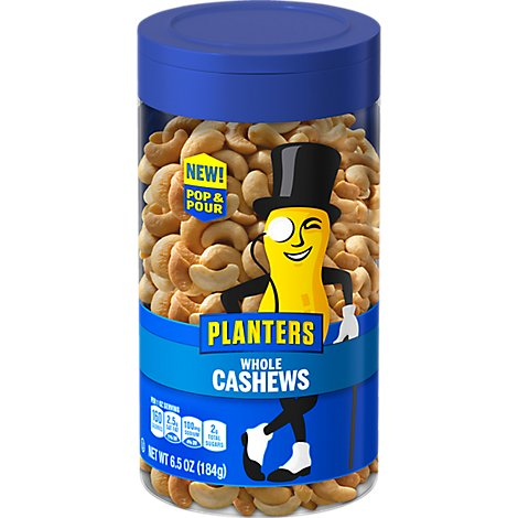 Planters Cashews Salted - 6.5 Oz