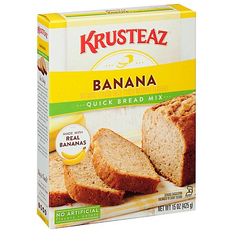KRUSTEAZ Quick Bread Mix Banana - 15 Oz