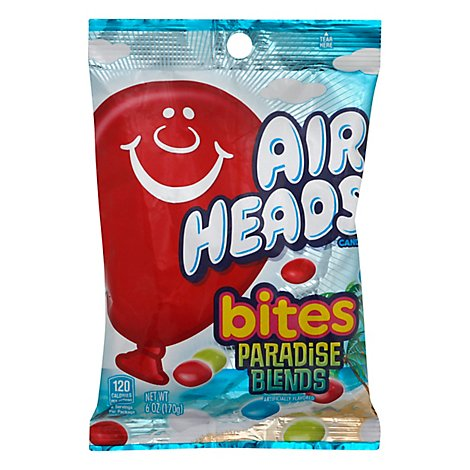 Airheads Candy Bites Paradise Heads - 6 Oz