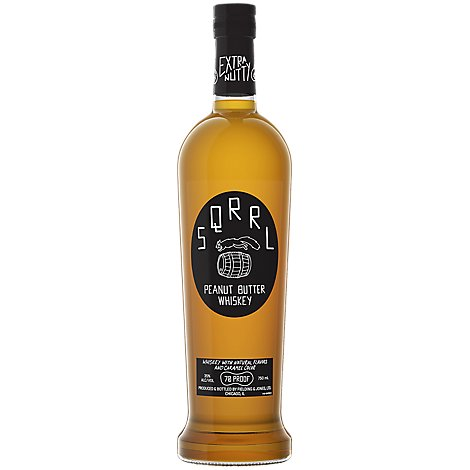 Sqrrl Peanut Butter Whiskey - 750 Ml