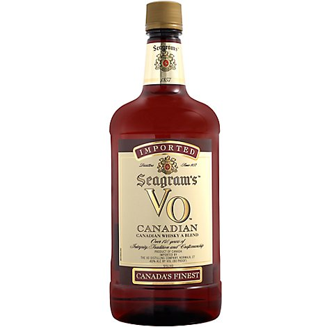 Seagrams V0 Canadian Whiskey - 1.75 Liter