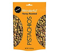 Wonderful Pistachios Honey Roasted 11oz - 11 Oz
