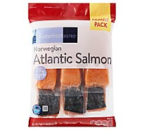 Waterfront Bistro Salmon Norwegian Atlantic Family Pack - 32 Oz