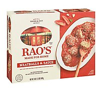 Raos Made For Home Meatballs & Sauce - 24 Oz