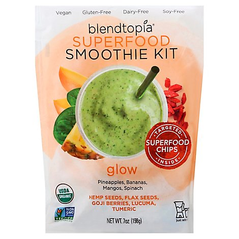 Blendtopia Smoothie Kit Superfood Glow - 7 Oz