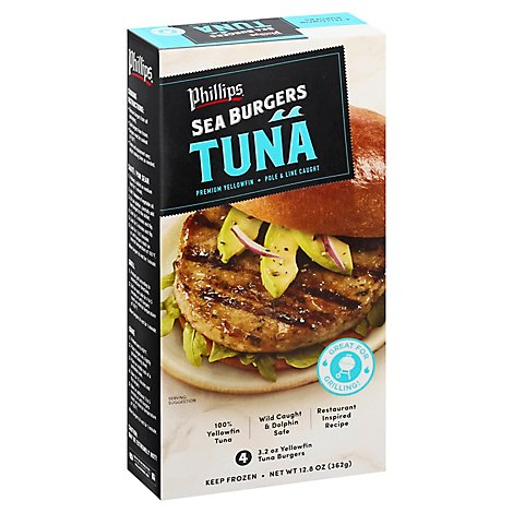Phillips Tuna Burger - 12.8 Oz