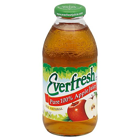 Everfresh Pure Apple Juice - 16 Fl. Oz.
