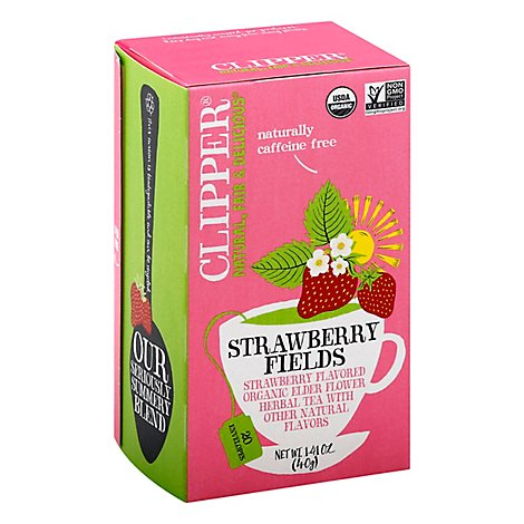 Clipper Strawberry Fields Tea - 20 Count