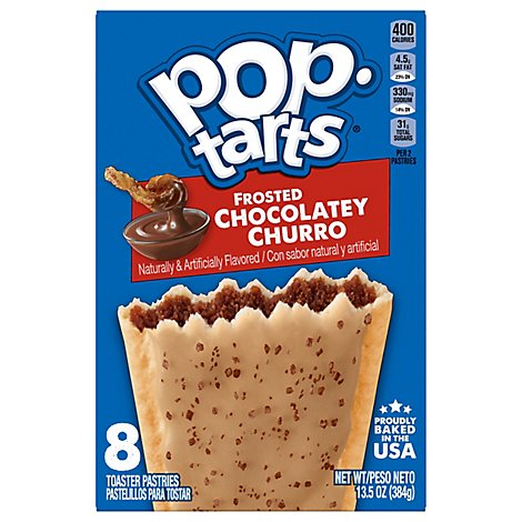 Kelloggs Chocolate Churro Pop Tarts - 13.5 Oz
