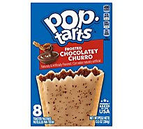 Pop Tarts Toaster Pastries Frosted Chocolatey Churro - 13.5 Oz
