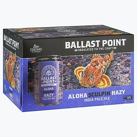 Ballast Point Aloha Sculpin In Cans - 6-12 Fl. Oz.