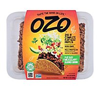 Ozo Plant Based Mexican Seasoned Ground - 12 Oz