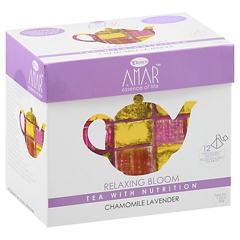 Amar Relaxing Bloom Tea - 1.32 Oz