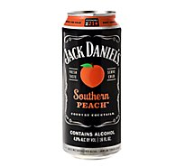 Jack Daniels Beverage Malt Country Cocktails Southern Peach 9.6 Proof - 16 Oz