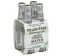Fever Tree 4pk Tonic Lt Cucmbr - 4-6.8Fl. Oz.