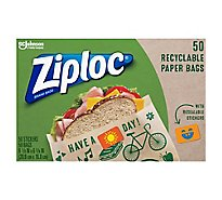 Ziploc Sandwich Paper Bag - 50 Count
