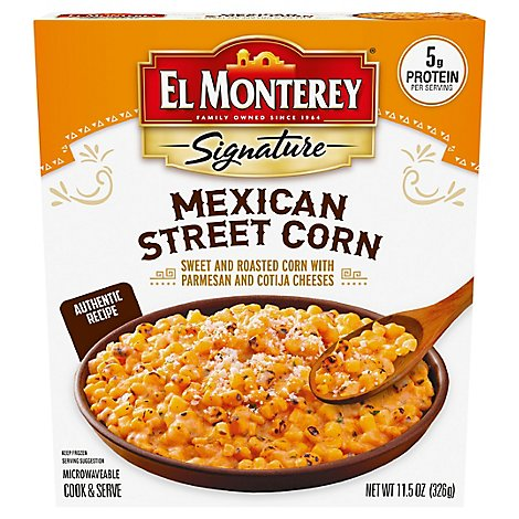 El Monterey Signature Frozen Side Dish Mexican Street Corn - 11.5 Oz
