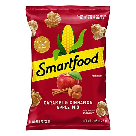 Smartfood Popcorn Caramel & Cinnamon Apple - 2 Oz