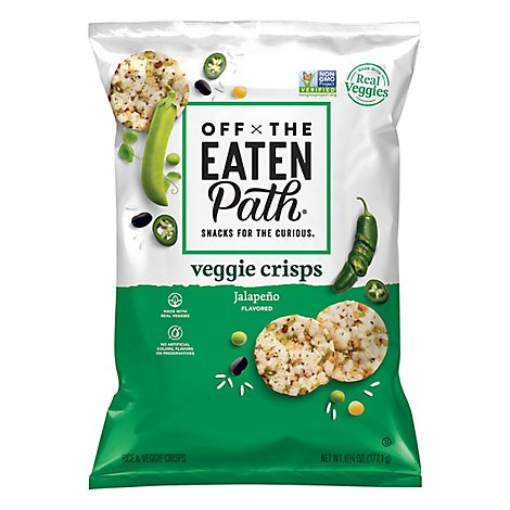 Off The Eaten Path Veggie Crisps Jalapeno - 6.25 Oz