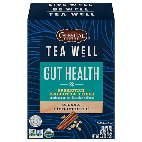 Teawell Tea Gut Healthea Well Gut Health - 12 Bag