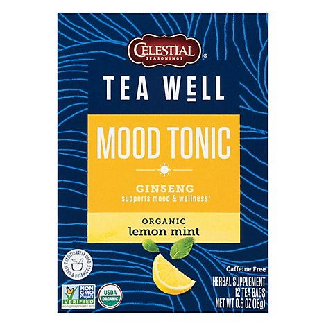 Teawell Tea Mood Tonictonic - 12 Bag