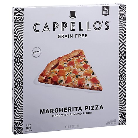 Cappellos Pizza Margherita - 10.82 Oz