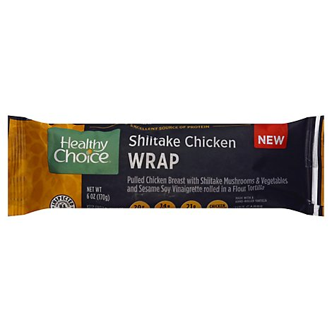 Healthy Choice Shiitake Chicken Wrap - 6 Oz