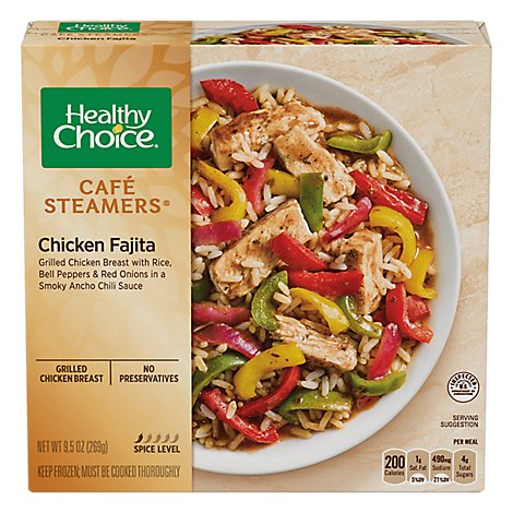 Healthy Choice Fajita Chkn Frozen Meal - 9.5 Oz