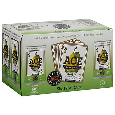 ACE Perry Pear Cider - 6-12 Fl. Oz.