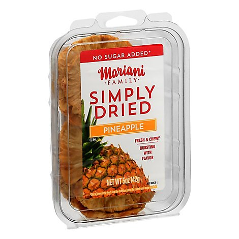 Simply Dried Pineapple Rings - 5 Oz