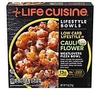 Life Cuisine Meatlovers Cauliflower Pizza - 11 Oz