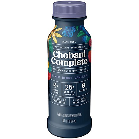 Chobani Complete Mixed Berry Drink - 10 Fl. Oz.